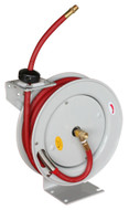 "Astro 3/8"" x 50 ft. Hose Reel, Automatic Rewind with Rubber Hose - 3682"