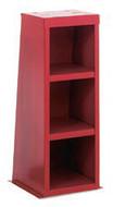 "Baldor Fabricated Steel Pedestal with Storage Shelves, 34-1/2"" High for Big Red Grinders - GA14R"