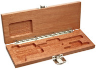 "Brown & Sharpe  Mahogany Case For 6"" Caliper - 599-578-9999"