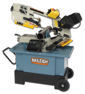 Baileigh Horizontal & Vertical Mitering Bandsaw - BS-712MS