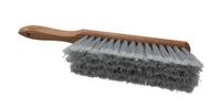 "Pro-Source Plastic Counter Duster, 2-1/2"" Bristle Length, 8"" Long Head, Hardwood Handle, Gray - 62-210-0"