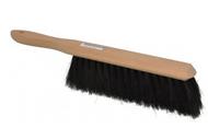 "Pro-Source Horsehair Counter Duster, 2-1/2"" Bristle Length, 9"" Long Head, Hardwood Handle, Black  - 62-211-8"