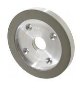 "Radiac Abrasives 6"" Diam, 1-1/4"" Hole Size, 3/4"" Overall Thickness, 320 Grit, Type 6 Tool & Cutter Grinding Wheel Extra Fine Grade, Diamond, Resinoid Bond 34113112 - 95-304-2"