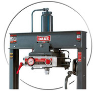 Dake Hydraulic Presses-Air Operated Workheads