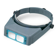 "Donegan OptiVisor Optical Magnifier, 	8"" x 2-1/2X Power - LX-500"