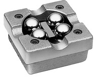 "Flexbar Ball Bearing V-Blocks, 2"" x 2"" x 1"" without Clamps - 16097"
