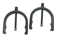 Flexbar Pair Clamps, for No. 16098 Ball Bearing V-Blocks - 16124