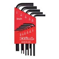 """Eklind 10111 Standard 11 piece Hex Key Set 0.05"""" to 1/4"""" - 10111"""