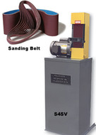 "Kalamazoo 4"" Belt Sander With Built-In Dust Collect"
