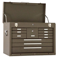 "Kennedy 26"" 11-Drawer Machinists' Chest, Brown Wrinkle - 3611B"