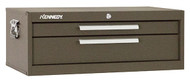 """Kennedy 27"""" 2-Drawer Machinists' Chest Base, Brown Wrinkle - 5150B"""