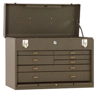 "Kennedy 20"" 7-Drawer Machinists' Chest, Brown Wrinkle - 520B"