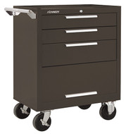 "Kennedy K1800 27"" 3-Drawer  Roller Cabinet, Brown Wrinkle - 273XB"