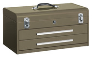 "Kennedy 20"" 2-Drawer Portable Tool Chest, Brown Wrinkle - 220B"