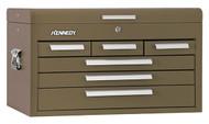 "Kennedy 26"" 6-Drawer Mechanics' Chest, Brown Wrinkle - 266B"