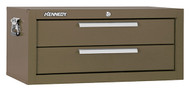 "Kennedy 26"" 2-Drawer Mechanics' Chest Base, Brown Wrinkle - 2602B"