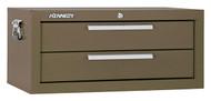 "Kennedy 26"" 2-Drawer Mechanics' Chest Base, Brown Wrinkle - 2602B"