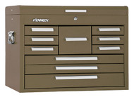 "Kennedy 26"" 10-Drawer Mechanics' Chest, Brown Wrinkle - 360B"