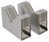 SPI Magnetic V-Blocks (Matched Pair) with On and Off Switch - 98-285-0