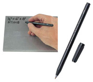 Chemical Etching Pen, For Use On Heavy Metals, Stainless Steel, Iron, Copper, Brass, Nickel, Tin And Lead - 97-470-9