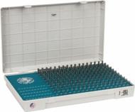 Meyer Steel Pin Gage Metric Set , Range 1.52mm-7.70mm, 310 Member Set - M-1MM-