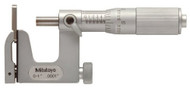 "Mitutoyo Uni-Mike Micrometer, Interchangeable Anvil Type, 0-1"" w/ Friction Thimble - 117-107"
