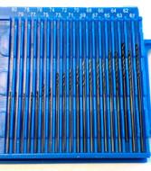 Precise Drill Set, 20 Piece #61-80 High Speed Steel Wire Gage Set - DS-680