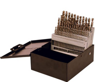 Precise High Speed Steel Jobber Drill Set,  1-60  - DS-160