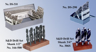 Precise High Speed Steel Drill Sets