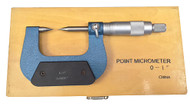 "Precise Point-Micrometer 30 Degree, 0-1"" Range, Graduation .001"" - PTM-001"