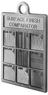 Flexbar Surface Finish Comparator Plastic - 16007