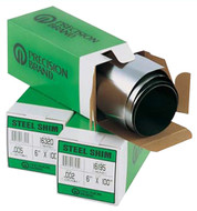 "Precision Brand Shim Stock, 6"" x 100"" Roll, 0.01"" Thickness - 61-683-9"