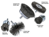 Anderson Crimped & Knotted Wire End Brushes