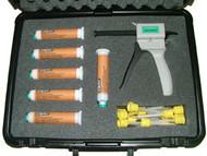 Flexbar Reprorubber Orange Medium Body Quick Dispense Cartridge System Kit - 16305