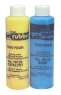 Reprorubber Thin Pour, 130 ml Kit ( 1 Bottle Of Base Material, 1 Jar Of Catalyst And 5 Mixing Sticks) - 98-736-2