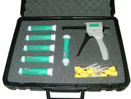 Flexbar Reprorubber Thin Pour Green Quick Dispense Cartridge System Kit - 16300