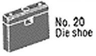 Roper Whitney No. 20 Die Shoe - 139552020