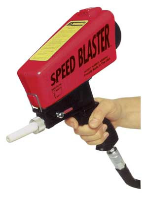 Speed Blaster Gravity Feed High Efficiency Sand Blaster