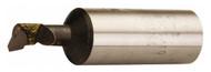 """Carbide Tipped Boring Bar, Grade C-2, 1"""" Shank, 9/16"""" Bore Dia, 5"""" OAL - 43-746-7"""