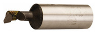 """Carbide Tipped Boring Bar, Grade C-6, 1"""" Shank, 1-1/4"""" Bore Dia, 7-3/4"""" OAL - 43-804-4"""