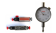"SPI Mighty Mag with Deluxe Dial Indicator, 0.25"" Range, 0-100 Reading  - 13-998-0"