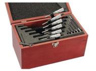 """Starrett 436 Series Micrometer Set 0-6"""" - ST436-6"""