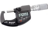 "Starrett 67828 Electronic Micrometer, 0-1"" w/ Friction Thimble - 796XFL-1"