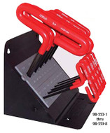 Eklind T-Handle Hex Key Sets with Cushion Grip Handles