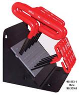 Eklind T-Handle Hex Key Sets with Cushion Grip Handles