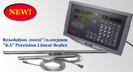 "UNIQ/SINO Digital Readout, 2-Axis X & Y Milling Package, Machine Travel: 8"" x 18"" - UNI-913"