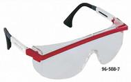 UVEX Astrospec 3000 Safety Eyewear, Patriot Frame, Clear Lens - 96-508-7