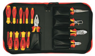 Wiha Insulated Pliers/Cutters/Scewdrivers 14 Piece Set - 32895