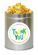 Thank You!  1 Quart Popcorn Tin