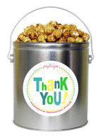 Thank You! 1 Gallon Popcorn Tin